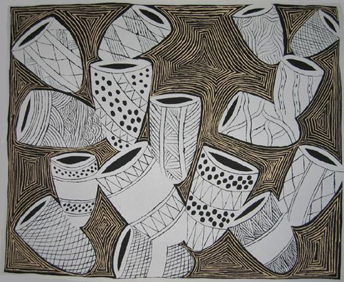'Bathi Malany (scattered baskets)' - Naminapu #2 Maymuru